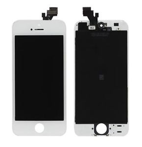Retina Display LCD Touchscreen Front Glas Digitizer Bildschirm für iPhone 5s weiss