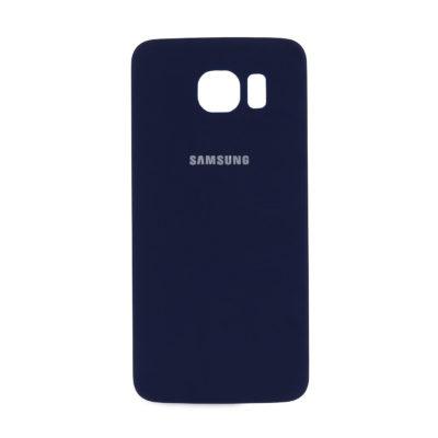 Akkudeckel Backcover Akku für Samsung Galaxy S6  Blau + Kleber