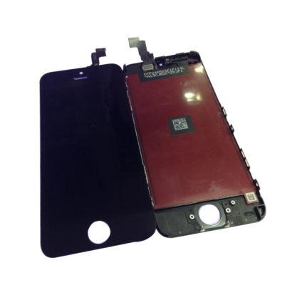 iPhone 5C LCD Display Touchscreen Bildschirm Komplettset Glas SCHWARZ