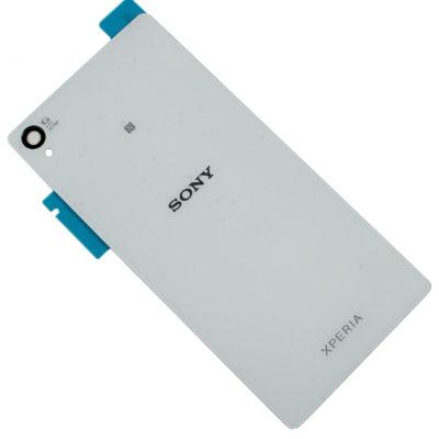 Sony Xperia Z3 D6603 D6633 Backcover Akkudeckel Hinten Cover Weiss + Klebefolie