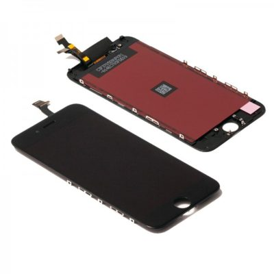Retina Display LCD Touchscreen Front Glas Digitizer Bildschirm für iPhone 6 schwarz